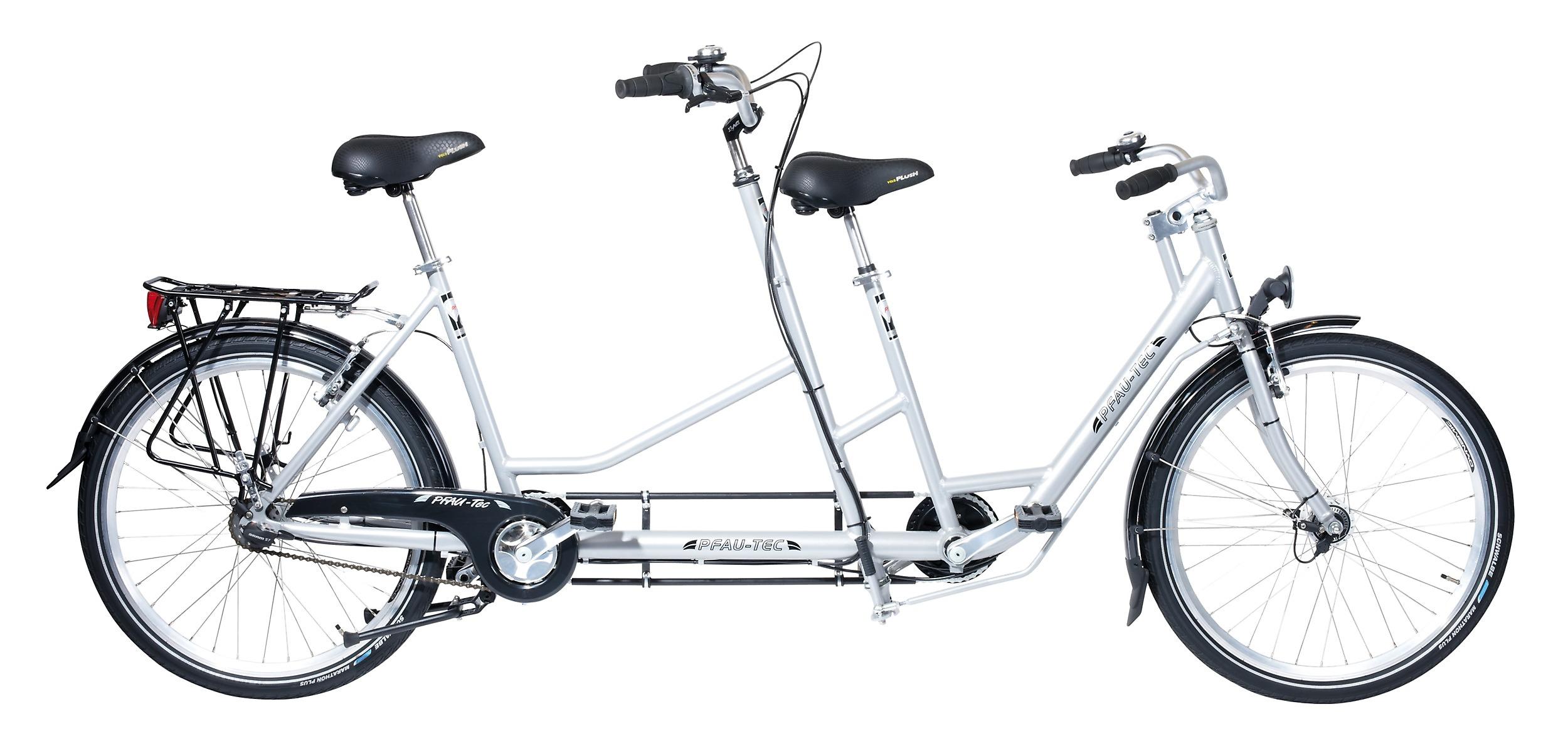 Tandem Dreirad für Erwachsene Dreiradshop24