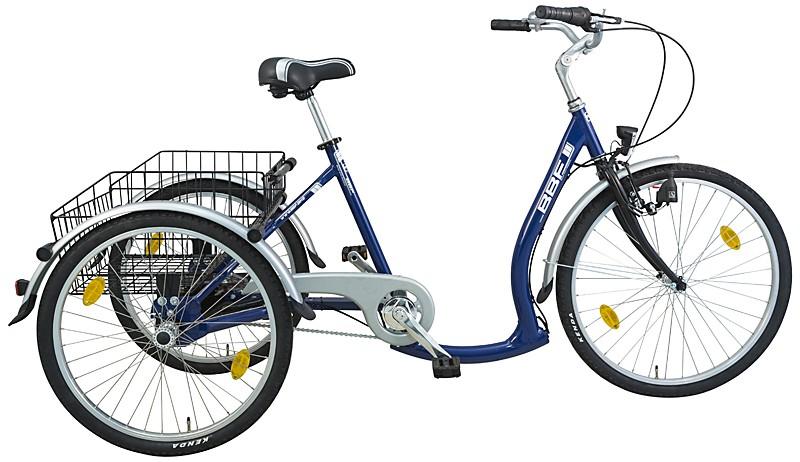 bbf konsatnz shoppingrad dreirad blau dreirad f r. Black Bedroom Furniture Sets. Home Design Ideas